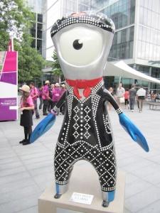 Mandeville London 2012 Paralympics Mascot
