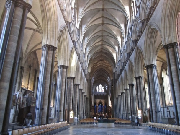 Salisbury Cathedral - Inside