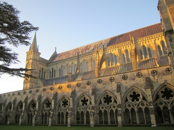 Salistbury Cathedral - cloisters 2