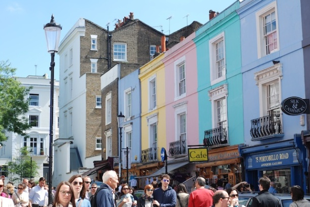 Colourful Houses - Portobello Road