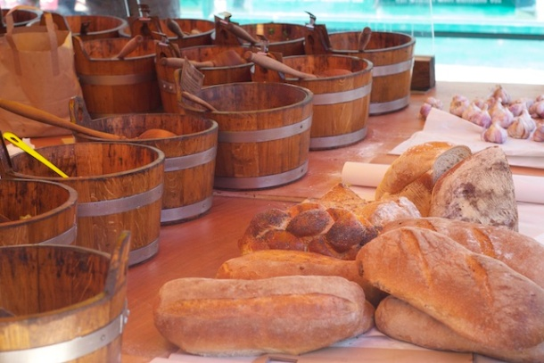 Fresh Bread Portobello Market