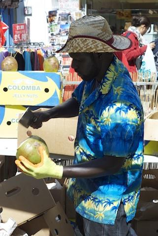 Fresh Coconut Water Portobello Market