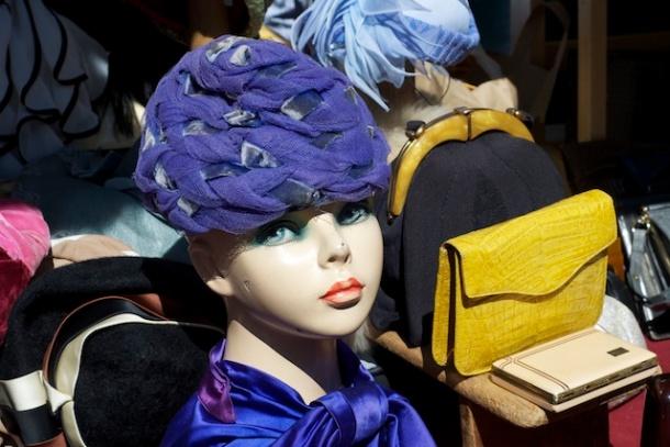Head gear flair Portobello Market