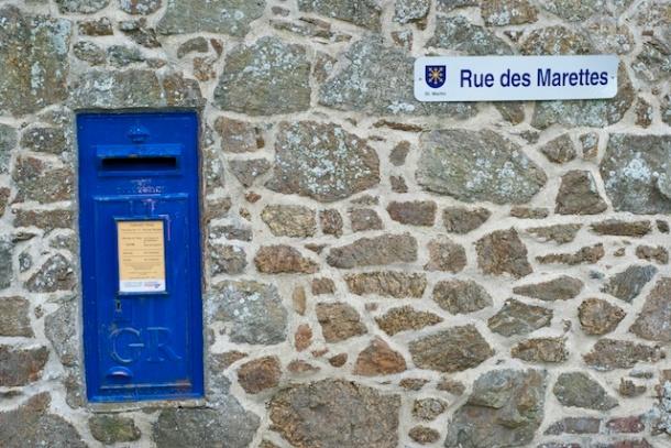 Post Box - Guernsey