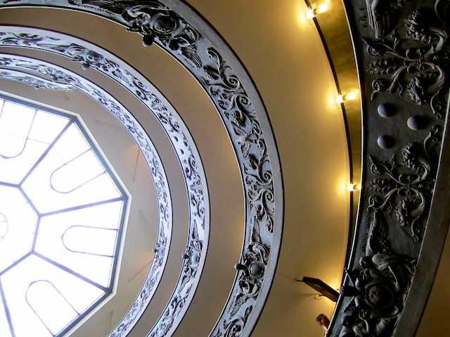 Vatican Museum Stairs - Rome