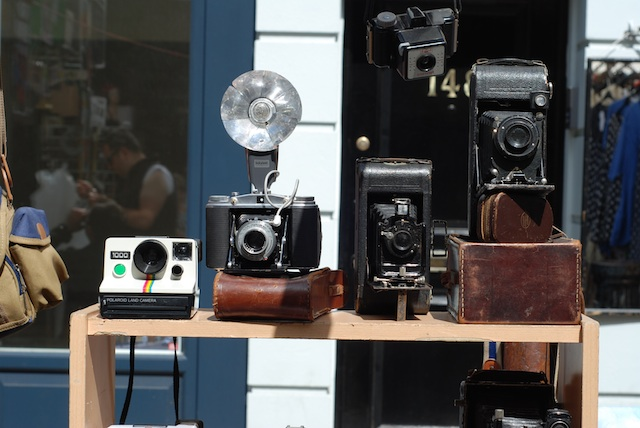 Vintage Cameras Portobello Market