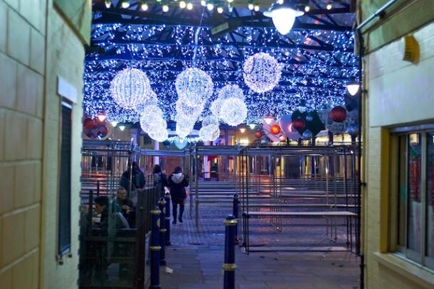 Greenwich Market Christmas Lights