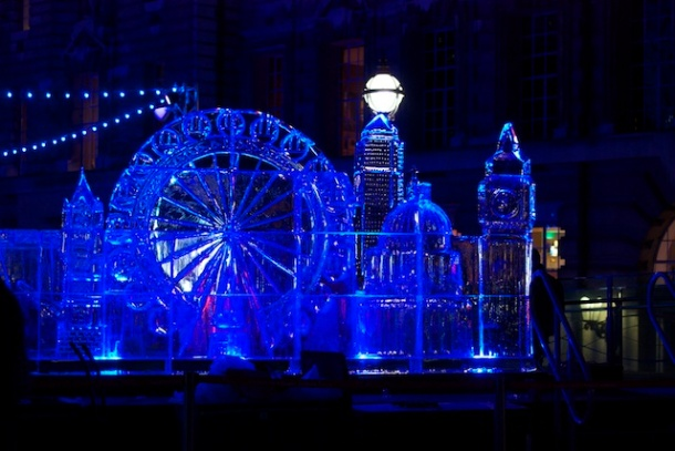 London (Eye) on Ice