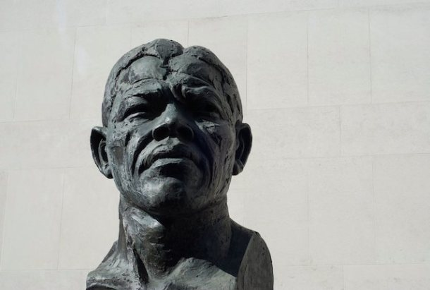 Nelson Mandela Bust - Southbank
