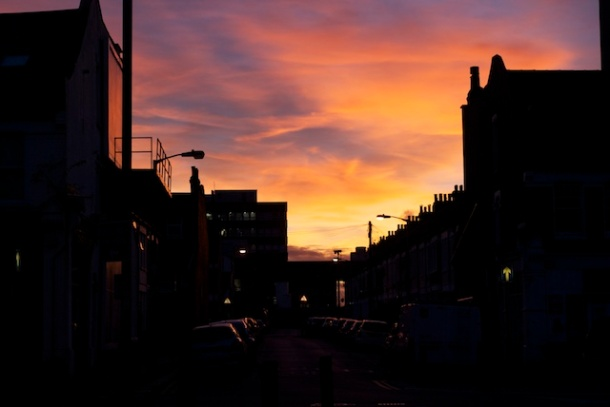 Sunset in SW17 London