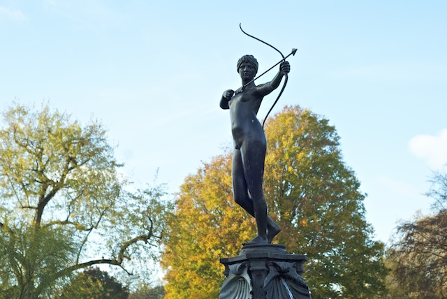 Diana The Huntress Statue Hyde Park London