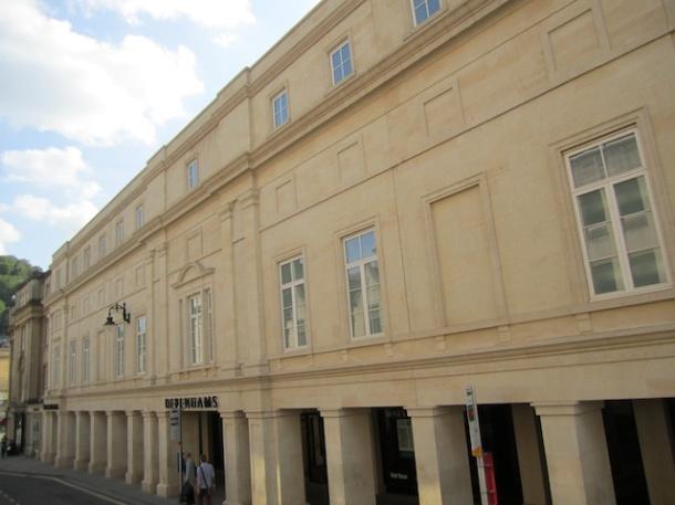 New Building in Bath Stone - Bath England