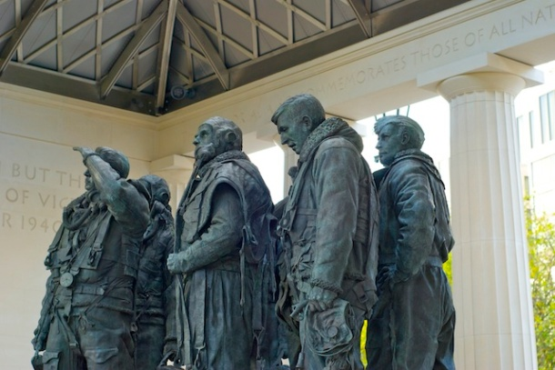 RAF Bomber Command Memorial - Green Park