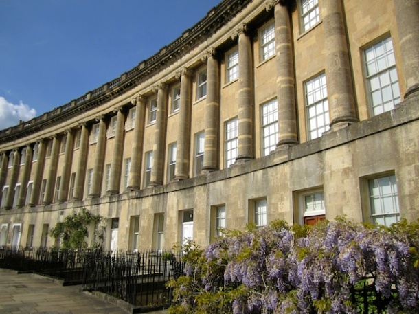 Royal Crescent - Bath England