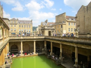 The Roman Bath - Bath England