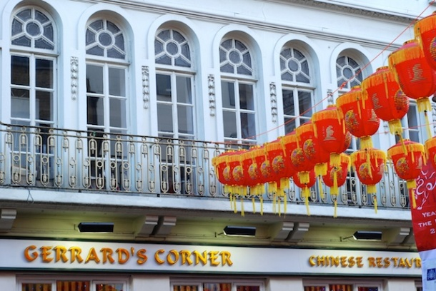Gerrards's Corner - China Town - London