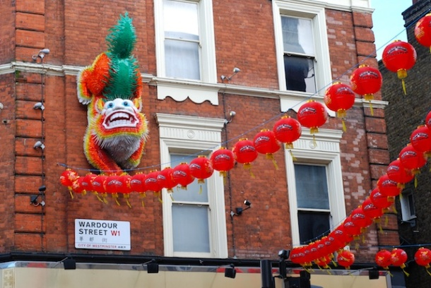 Wardour Street - China Town - London