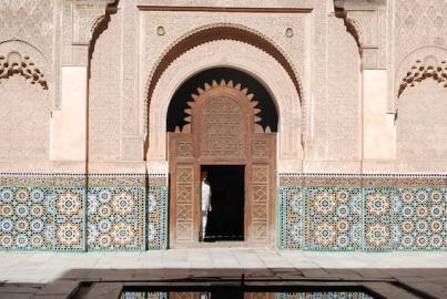 Mederssa Ben Youssef - Courtyard