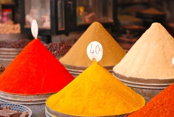 Spices in the Mellah - Marrakesh