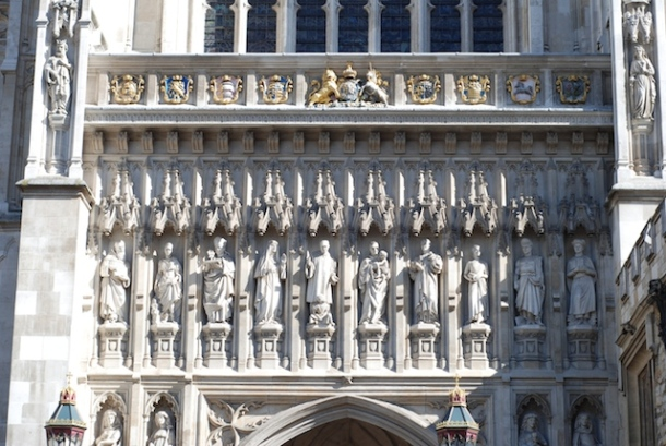 Martyrs on Westminster Abbey