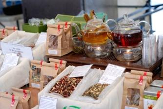 Tea at the Real Food Market Southbank