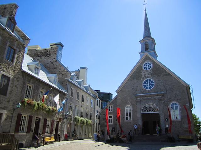 Notre Dame Des Victoires - Quebec City, Canada