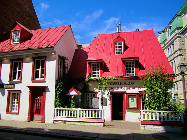 Restaurant Aux Anciens Canadiens - Quebec City, Canada
