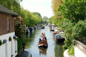 Walking London:  Little Venice & theCanal