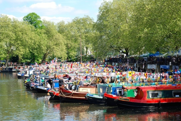Little Venice - Canalway Cavaldae - Boats
