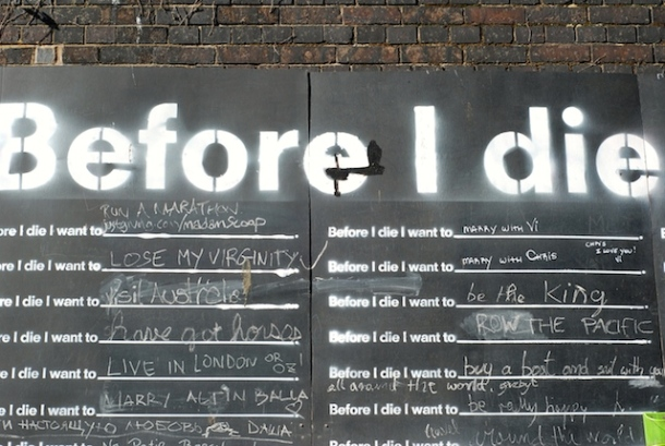 Regents Canal - Before I Die