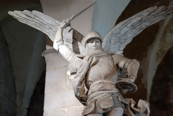 Arch Angel Michel - Normandy, France