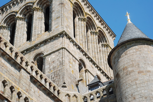 The Abbey - Mont St Michel - Normandy, France
