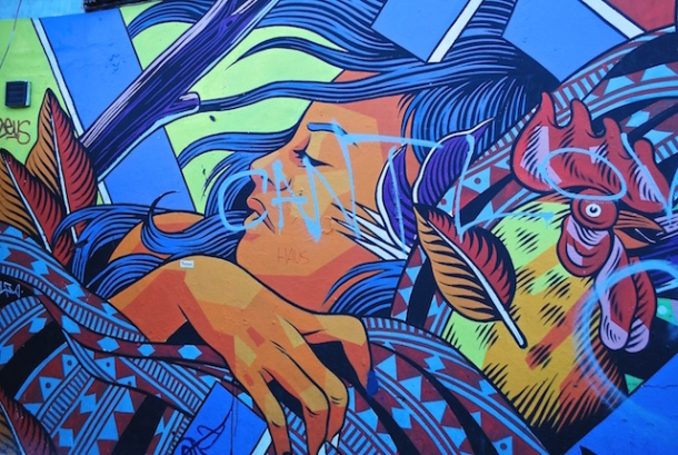 Work by Bicicleta Sem Freio - Pedley Street - East London, England