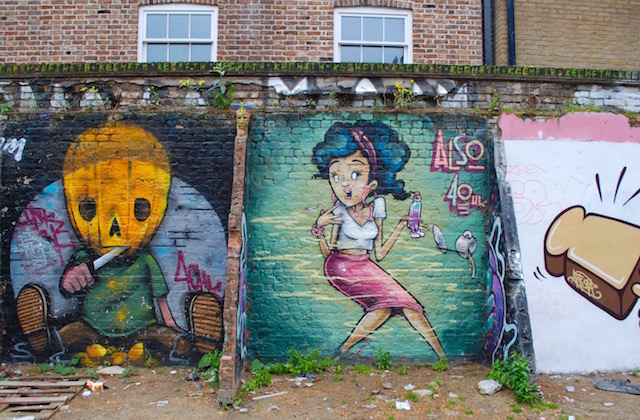 Also - Brick Lane Alleyway - East London