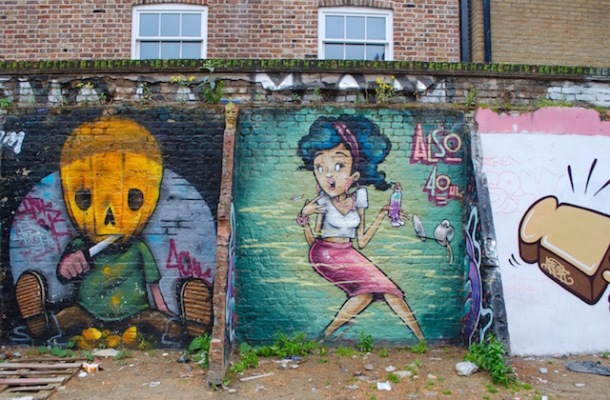 Also - Brick Lane Alleyway - East London