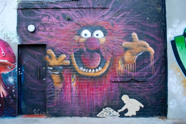 Gnashers Mural - Camden - North London