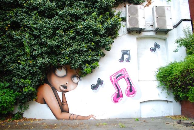 Vinie Graffiti - East London