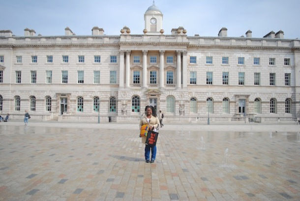 From behind the camera - Somerset House