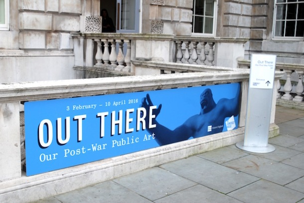Out There Post-War Public Art - Somerset House
