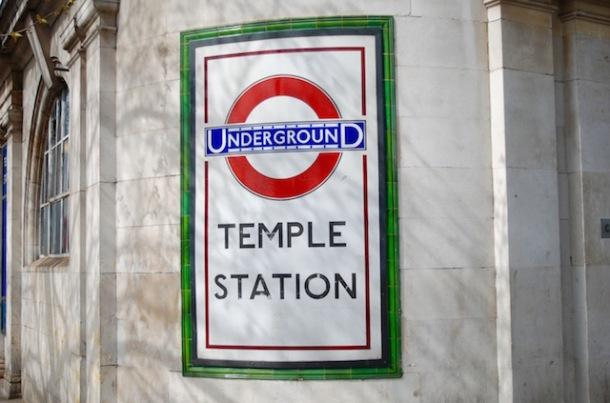 Temple Station - Underground