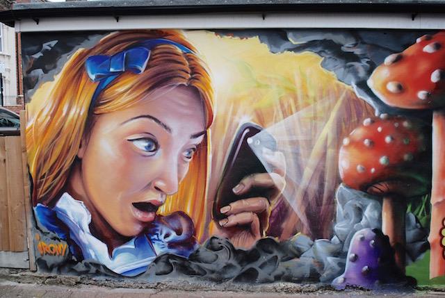 Alice in Wonderland - Tooting Market