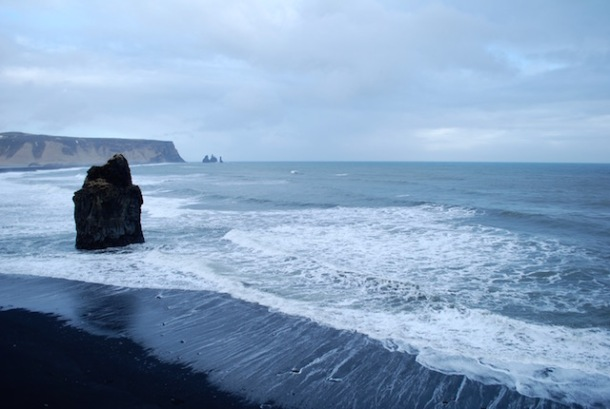 Black Sand Beach - Reykjavik to Vik - Iceland