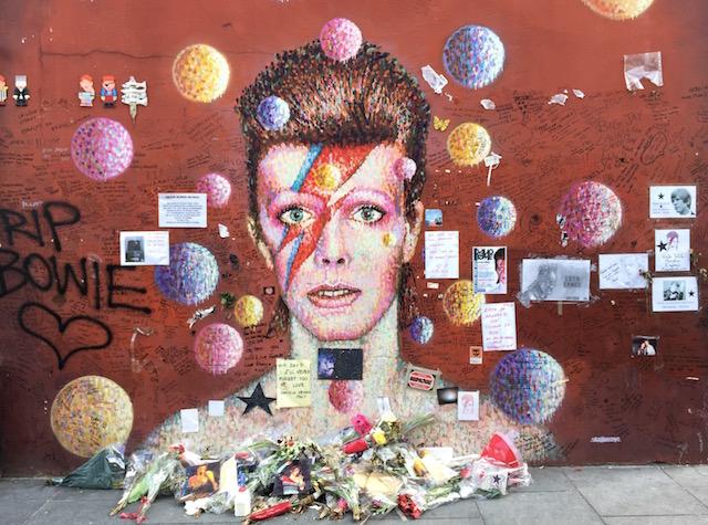 David Bowie Memorial - Brixton