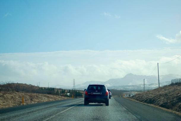 On the Road to Vik - Reykjavik Iceland