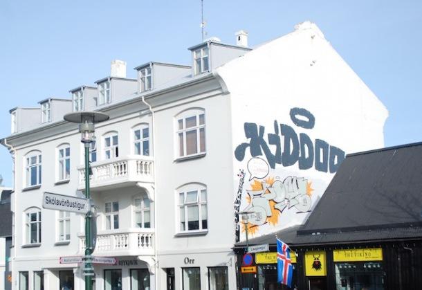 Shopping District - Reykjavik, Iceland
