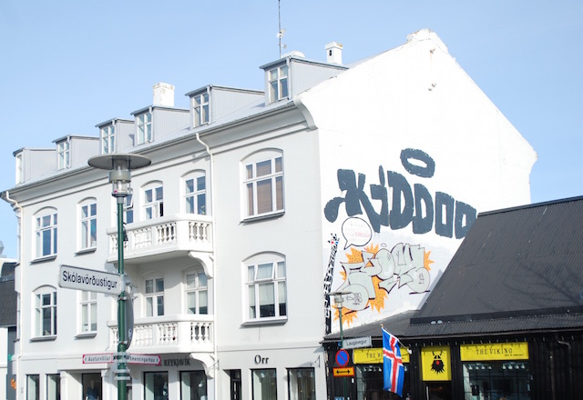 Shopping District - Reykjavik, Iceland