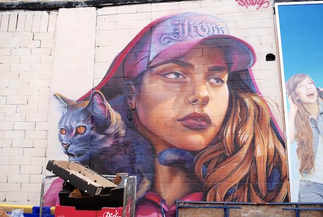 Street Art - Tooting Market